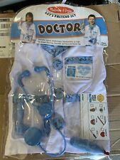 Melissa & Doug DOCTOR Costume - NWT - Ages 3-6 Halloween 8 PC Set Jacket/Tools