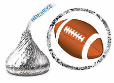 216 FOOTBALL BIRTHDAY PARTY FAVORS HERSHEY KISS LABELS