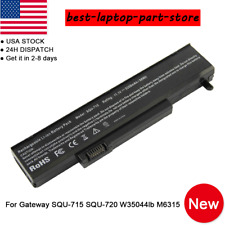 Replacement Battery for Gateway SQU-715 SQU-720 mg1 sa6 M-1618 M-1629 M-6816