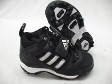 Adidas 351847 Corner Blitz 3/4 J Football Baseball Lax Cleats Black Youth 1.5