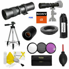 VIVITAR HD 420-1600MM F8 SPORTS ACTION ZOOM LENS FOR SONY ALPHA A320 A290 A 230