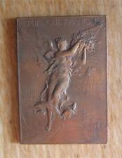 Bronze Gymnastics Winner's Medal 1900 Olympic Games / Paris Exposition by Vernon