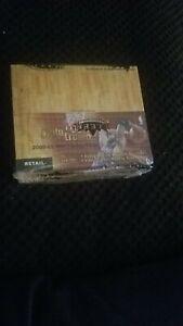 2000-01 Fleer Triple Crown NBA cards. Unopened, factory sealed  box. Kobe!