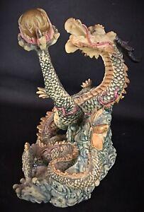 Superbe statuette Feng Shui Dragon - Belle pièce en main