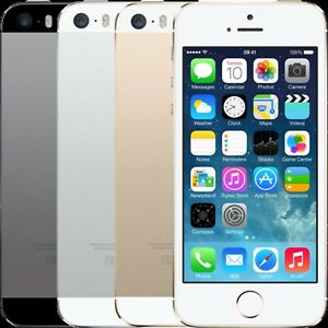 Apple iPhone 5S - 16/32/64GB - Grey, White, Gold - Unlocked Grade A  Excellent