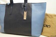 Onorevoli Designer Borsetta Borsa Donna Turchese Blu Borsetta Nuovo Blu e Bianco