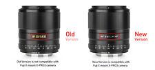EU ✮ NEW Viltrox AF 23mm f/1.4 mk2 STM Auto-Focus Lens for Fujifilm X-Mount FUJI