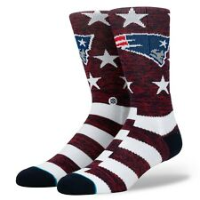Stance NFL New England Patriots Banner Socks Men Size M 6-8.5