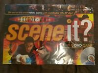 """""""DR WHO, SCENE IT"""" The DVD game. By Mattel Games 2008"""