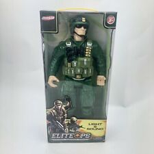"""Hunson Elite Ops Army Force Military 18"""" Sound Light Battle Commander 22894 New"""