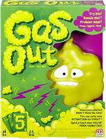 Gas Out Game - Action Reflex Fun Game - Mattel DHW40