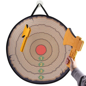 Foam Axe Throwing Target Game Safe Fun Indoor Outdoor Activity Kids & Adults