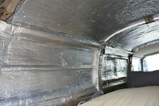 Van insulation, double foil. 20m2 (4 Rolls) Free Postage