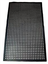 New Star Heavy Duty Black 36x60 Restaurant  Bar Anti Fatigue Rubber Floor Mat