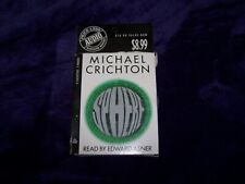Sphere by Michael Crichton Book on Tape - 2 Cassettes
