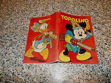 TOPOLINO LIBRETTO N.20 ORIGINALE MONDADORI DISNEY 1950 MB/OTTIMO CON GIOCO
