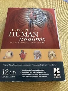 Explore Human Anatomy: Professional Edition - 12 CD Collection PC/CD-ROM Windows