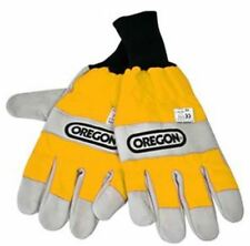 OREGON 295399 BOTH HANDS PROTECTIVE CHAINSAW GLOVES