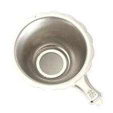 Stainless Steel Double-layer Fine Mesh Tea Strainer Filter Sieve Teapot