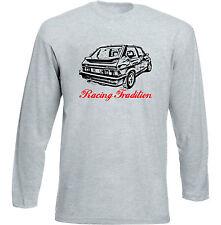 Fiat Ritmo Abarth 130 TC Strada-gris à manches longues T-Shirt-Toutes les tailles en stock