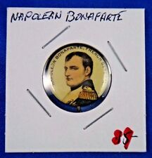 Original Vintage Napoleon Bonaparte French General Pin Pinback Button