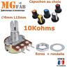 WH148 B10K Potentiomètre 10Kohms Linéaire diam 6mm L15mm | Arduino PIC ARM STM