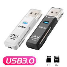 High Speed USB 3.0 Card Reader Adapter fr Micro SD SDXC TF T-Flash Speicherkarte