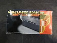 n64 multi game adaptor with box -for import games-