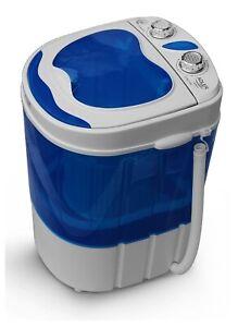 Lavatrice portatile + centrifuga capacità 3 kg e tempo di lavaggio 15min ad_8051