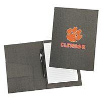 Clemson University Tigers Personalized College Padfolio Notepad Organizer