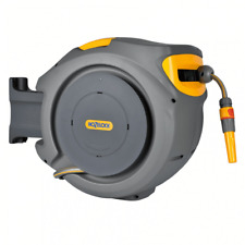 Hozelock 20M Auto Reel With Hose Retractable Hose Reel Wall Mounted 2401