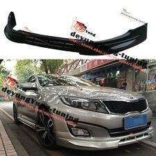 Front Bumper Lip Aero Spoiler Anti-collision Protector for KIA Optima K5 14-15