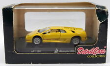 Detail Cars 1/43 Scale Diecast Model Car ART110 - Lamborghini Diablo - Yellow