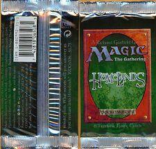 Vintage Magic | 1x MTG Factory Sealed Homelands Booster Pack | Didgeridoo/Scroll