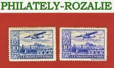 Czechoslovakia stamps MNH 1930 AVIATION (10Kč) - COLOR