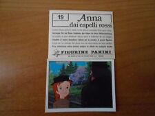 figurina ANNA DAI CAPELLI ROSSI n.19  ED. PANINI  completa di velina