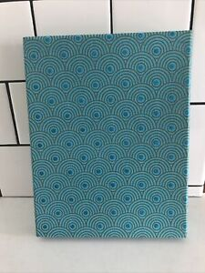 World Market decorative box arches blue turquoise 11X9X1.5 from India
