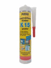 Pufas Konstruktions-Kleber K 15 300ml Montagekleber Spiegelkleber Metall PVC