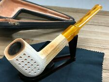 New ListingRare Vintage Pipe 1970's Meerschaum Smoking Pipe w/ Case Very Nice! Make offer!