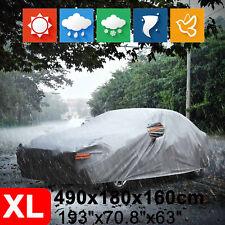 XL Full Car Cover Heavy Duty Waterproof For BMW Buick Honda Ford Hyundai Toyota