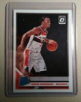 2019-20 Donruss Optic Justin Robinson Rated Rookie #174 Wizards RC