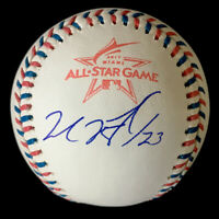 Michael Brantley Houston Astros Indians Autographed Signed Baseball JSA COA MINT