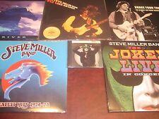 STEVE MILLER FLY LIKE EAGLE + HITS + RIVER 180 GRAM + SHAKE JOKER LIVE 6 LP'S+CD