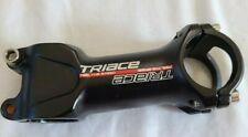 Triace Bicycle Stem 90mm x 6 Degrees Black Alloy 31.8mm Bar Clamp 1 1/8""