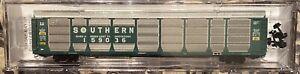 N-scale Model Railroad Car Micro Trains MTL  Autorack Southern Railway