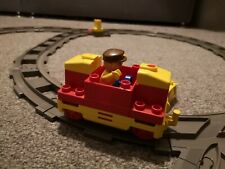 Vintage LEGO Duplo Battery Operated Motorized Train and Track