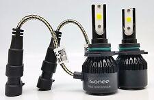 9006 Xenon White 6000K R6 COB LED Headlight Conversion Kit 30W 3200Lm Bulbs