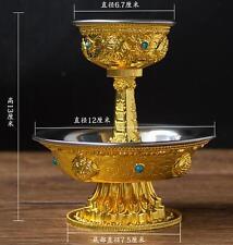 Tibet Tibetan Buddhist Mikky Offering Water Bowl Cup Divine Focus Ritual Vessel