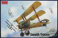 Roden Models 1/32 SOPWITH TRIPLANE British WWI Fighter
