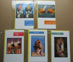 Happy Birthday Humorous/ Funny Cards. Multiple designs. Select one card.
